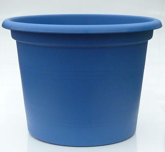 pflanzk bel blau 50cm kunststoff blumentopf pflanztopf blumenk bel untersetzer ebay. Black Bedroom Furniture Sets. Home Design Ideas