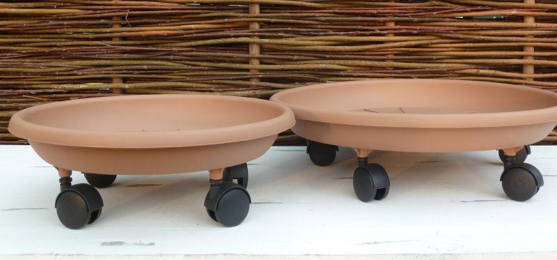 pflanzroller kunststoff untersetzer mit rollen. Black Bedroom Furniture Sets. Home Design Ideas